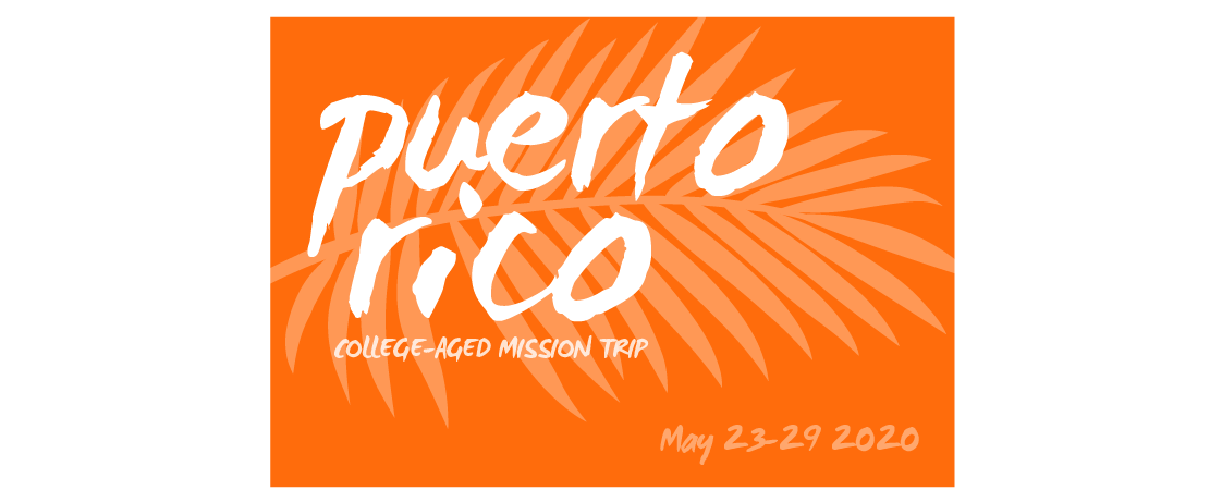 Cancelled: Puerto Rico Mission Trip